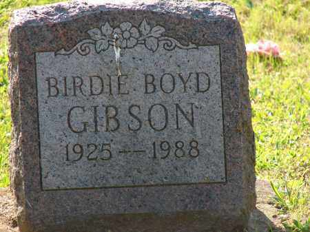 BOYD GIBSON, BIRDIE - Meigs County, Ohio | BIRDIE BOYD GIBSON - Ohio Gravestone Photos