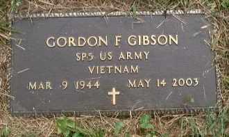 GIBSON, GORDON FERN - Meigs County, Ohio | GORDON FERN GIBSON - Ohio Gravestone Photos