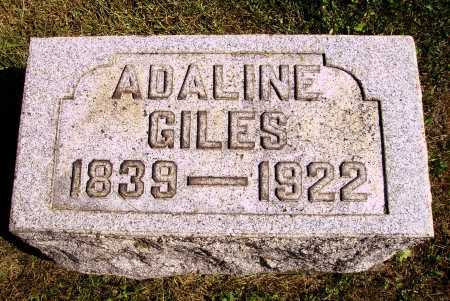 GILES, ADALINE - Meigs County, Ohio | ADALINE GILES - Ohio Gravestone Photos