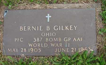 GILKEY, BERNIE B - Meigs County, Ohio | BERNIE B GILKEY - Ohio Gravestone Photos