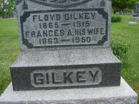 LANDAKER GILKEY, FRANCES A - Meigs County, Ohio | FRANCES A LANDAKER GILKEY - Ohio Gravestone Photos