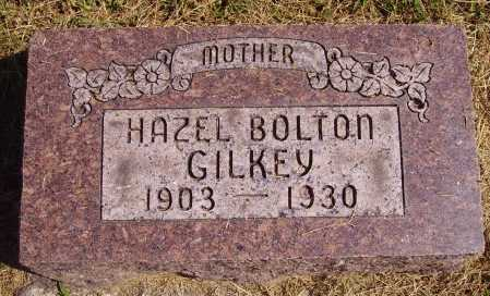 BOLTON GILKEY, HAZEL - Meigs County, Ohio | HAZEL BOLTON GILKEY - Ohio Gravestone Photos