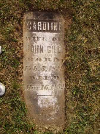 GILL, CAROLINE - Meigs County, Ohio | CAROLINE GILL - Ohio Gravestone Photos