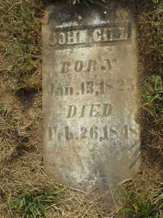 GILL, JOHN - Meigs County, Ohio | JOHN GILL - Ohio Gravestone Photos