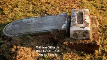 GILLESPIE, WILLIAM - Meigs County, Ohio   WILLIAM GILLESPIE - Ohio Gravestone Photos