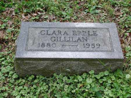 GILLILAN, CLARA - Meigs County, Ohio | CLARA GILLILAN - Ohio Gravestone Photos