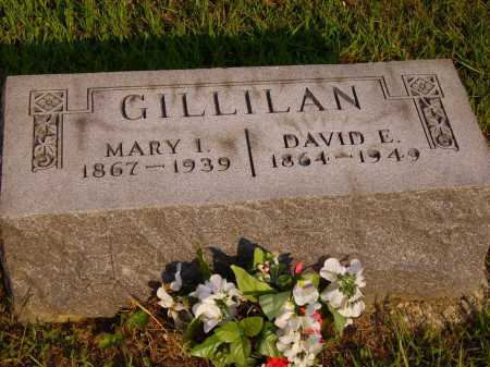 GILLILAN, DAVID E. - Meigs County, Ohio | DAVID E. GILLILAN - Ohio Gravestone Photos