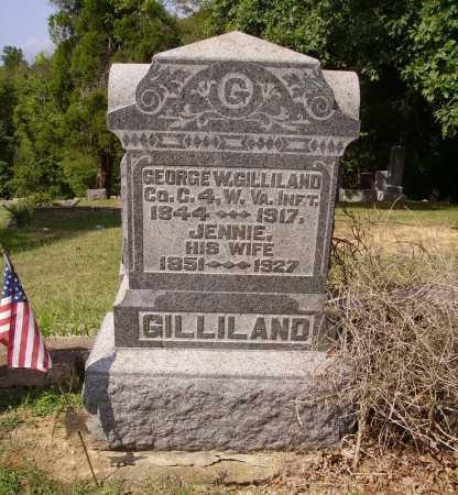 CUNNINGHAM GILLILAND, JENNIE - Meigs County, Ohio | JENNIE CUNNINGHAM GILLILAND - Ohio Gravestone Photos