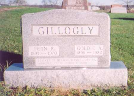 BORING GILLOGLY, GOLDIE A. - Meigs County, Ohio | GOLDIE A. BORING GILLOGLY - Ohio Gravestone Photos