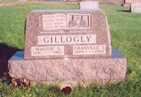 GILLOGLY, GRANVILLE S. - Meigs County, Ohio | GRANVILLE S. GILLOGLY - Ohio Gravestone Photos