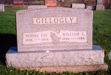 GILLOGLY, NORMA EVE - Meigs County, Ohio | NORMA EVE GILLOGLY - Ohio Gravestone Photos