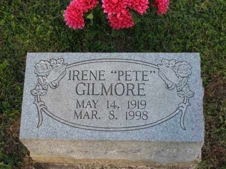 "GILMORE, IRENE ""PETE"" - Meigs County, Ohio 