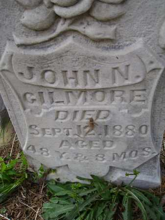 GILMORE, JOHN N. - CLOSERVIEW - Meigs County, Ohio | JOHN N. - CLOSERVIEW GILMORE - Ohio Gravestone Photos