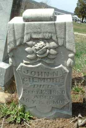 GILMORE, JOHN N. - Meigs County, Ohio | JOHN N. GILMORE - Ohio Gravestone Photos