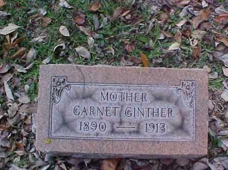 GINTHER, GARNET - Meigs County, Ohio   GARNET GINTHER - Ohio Gravestone Photos