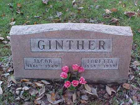 GINTHER, LORETTA - Meigs County, Ohio | LORETTA GINTHER - Ohio Gravestone Photos