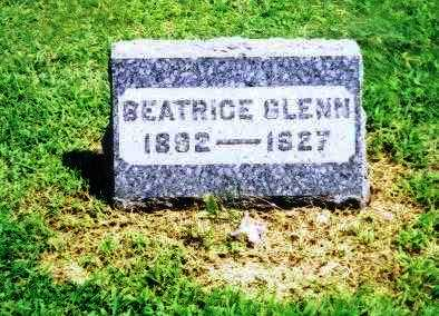 GLENN, BEATRICE - Meigs County, Ohio | BEATRICE GLENN - Ohio Gravestone Photos