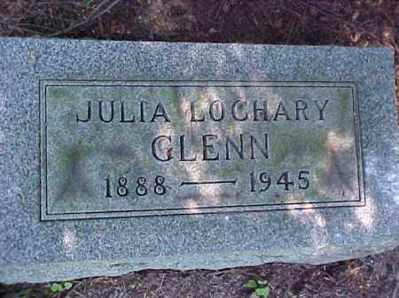 LOCHARY GLENN, JULIA - Meigs County, Ohio | JULIA LOCHARY GLENN - Ohio Gravestone Photos