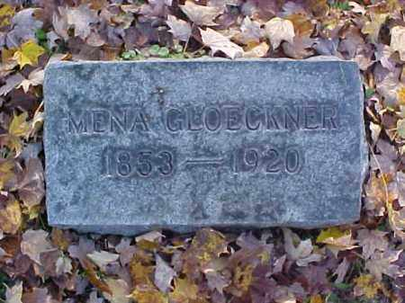 MAYER GLOECKNER, WILHELMINA {MENA] - Meigs County, Ohio | WILHELMINA {MENA] MAYER GLOECKNER - Ohio Gravestone Photos
