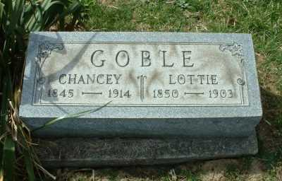 SECOY GOBLE, LOTTIE - Meigs County, Ohio | LOTTIE SECOY GOBLE - Ohio Gravestone Photos