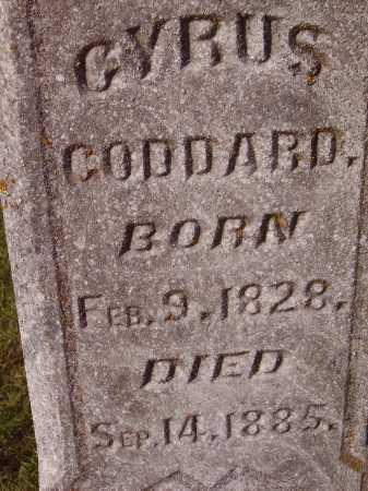 GODDARD, CYRUS - Meigs County, Ohio   CYRUS GODDARD - Ohio Gravestone Photos