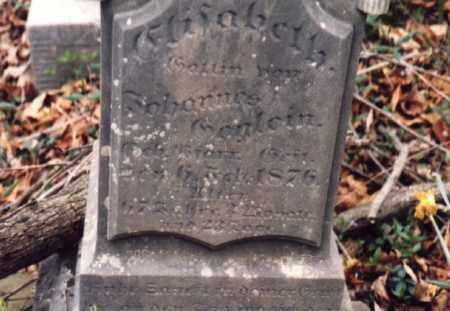 GOEGLEIN, ELISABETH - Meigs County, Ohio | ELISABETH GOEGLEIN - Ohio Gravestone Photos