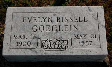 BISSELL GOEGLEIN, EVELYN - Meigs County, Ohio | EVELYN BISSELL GOEGLEIN - Ohio Gravestone Photos