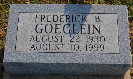 GOEGLEIN, FREDERICK B. - Meigs County, Ohio | FREDERICK B. GOEGLEIN - Ohio Gravestone Photos