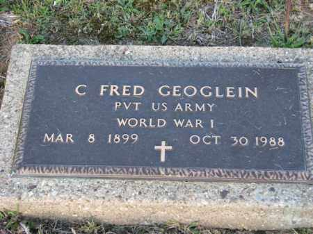 GOEGLEIN, FRED C. - Meigs County, Ohio | FRED C. GOEGLEIN - Ohio Gravestone Photos
