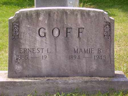 RUMFILED GOFF, MAMIE B. - Meigs County, Ohio | MAMIE B. RUMFILED GOFF - Ohio Gravestone Photos
