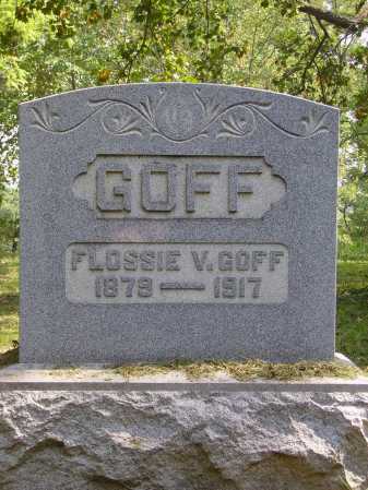 GOFF, FLOSSIE V. - Meigs County, Ohio | FLOSSIE V. GOFF - Ohio Gravestone Photos