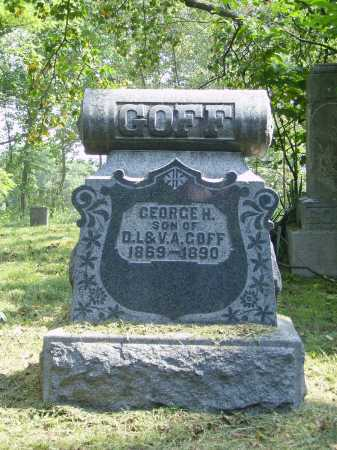 GOFF, GEORGE H. - Meigs County, Ohio | GEORGE H. GOFF - Ohio Gravestone Photos