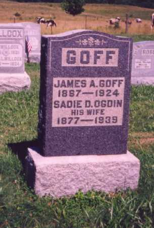 GOFF, SADIE D. - Meigs County, Ohio | SADIE D. GOFF - Ohio Gravestone Photos