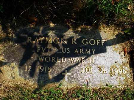 GOFF, RAYMON R.[ROBERT] - Meigs County, Ohio   RAYMON R.[ROBERT] GOFF - Ohio Gravestone Photos