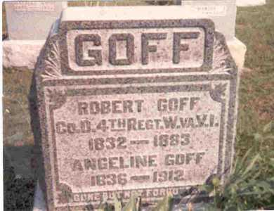 GOFF, ANGELINE - Meigs County, Ohio | ANGELINE GOFF - Ohio Gravestone Photos