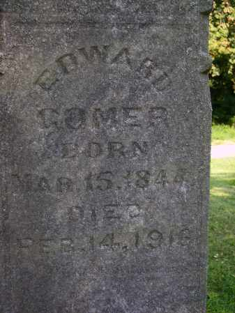 GOMER, EDWARD - Meigs County, Ohio | EDWARD GOMER - Ohio Gravestone Photos