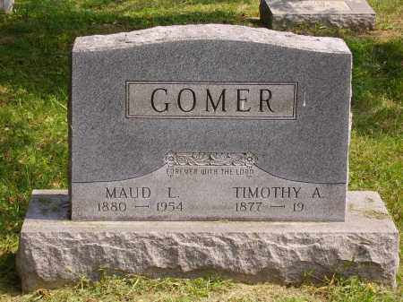 GOMER, TIMOTHY A. - Meigs County, Ohio | TIMOTHY A. GOMER - Ohio Gravestone Photos