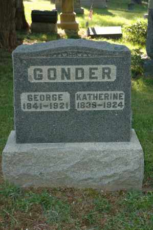 GONDER, KATHERINE - Meigs County, Ohio | KATHERINE GONDER - Ohio Gravestone Photos