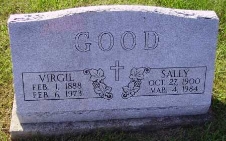 GOOD, SALLEY - Meigs County, Ohio | SALLEY GOOD - Ohio Gravestone Photos