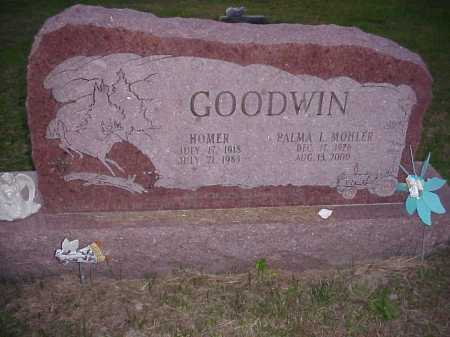 MOHLER GOODWIN, PALMA I. - Meigs County, Ohio | PALMA I. MOHLER GOODWIN - Ohio Gravestone Photos