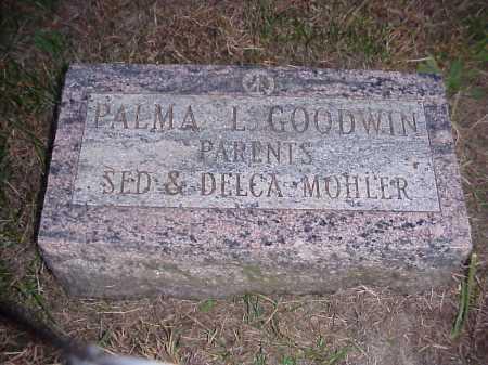 MOHLER GOODWIN, PALMA L. - Meigs County, Ohio | PALMA L. MOHLER GOODWIN - Ohio Gravestone Photos