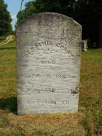 GORBY, BENJAMIN - Meigs County, Ohio | BENJAMIN GORBY - Ohio Gravestone Photos