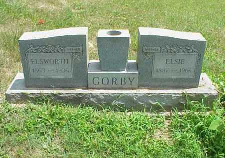 GORBY, ELSIE - Meigs County, Ohio | ELSIE GORBY - Ohio Gravestone Photos