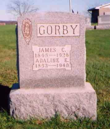 GORBY, JAMES C. - Meigs County, Ohio | JAMES C. GORBY - Ohio Gravestone Photos