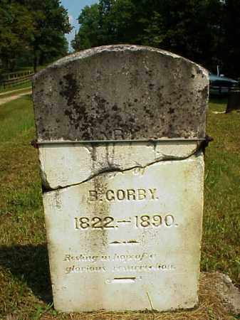 HILL GORBY, MARY A. - Meigs County, Ohio | MARY A. HILL GORBY - Ohio Gravestone Photos