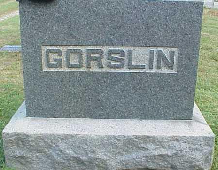 GORSLIN, FAMILY MONUMENT - Meigs County, Ohio | FAMILY MONUMENT GORSLIN - Ohio Gravestone Photos