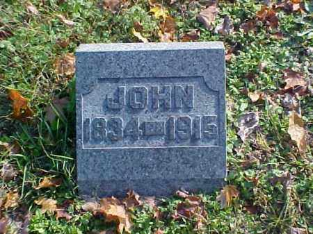 GORSUCH, JOHN - Meigs County, Ohio | JOHN GORSUCH - Ohio Gravestone Photos