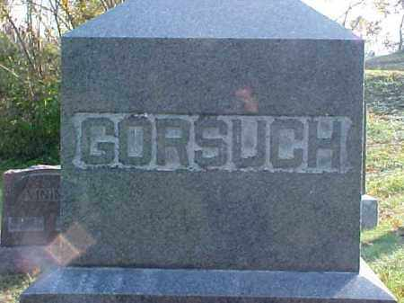 GORSUCH, MONUMENT - Meigs County, Ohio | MONUMENT GORSUCH - Ohio Gravestone Photos