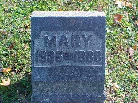 GORSUCH, MARY - Meigs County, Ohio | MARY GORSUCH - Ohio Gravestone Photos