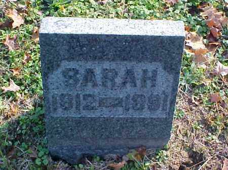 GORSUCH, SARAH - Meigs County, Ohio | SARAH GORSUCH - Ohio Gravestone Photos